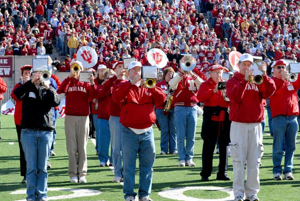 Alumni Band At Halftime, 2006