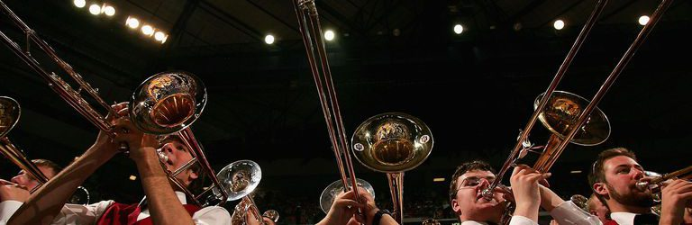 Indiana University Band. Jed Jacobsohn / Getty Images Sport / Getty Images